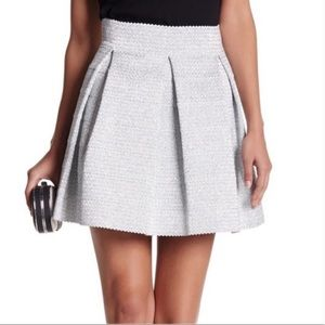 Silver Parker Stretch Party Skirt